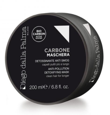 Carbone Maschera Detossinante Anti Smog 200ml www.crystalprofumi.it