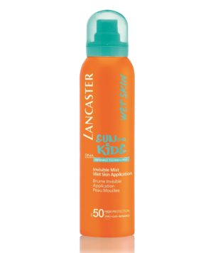 Invisible Mist Water Resistant SPF50 Sun for Kids di Lancaster
