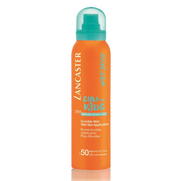 Invisible Mist Water Resistant SPF50 Sun for Kids di Lancaster www.crystalprofumi.it