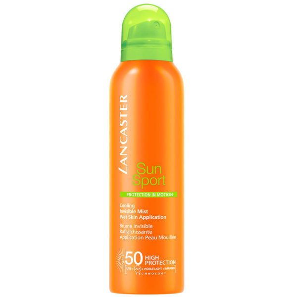 Cooling Invisible Mist SPF50 Sun Sport di Lancaster www.crystalprofumi.it