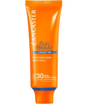 Crema Solare Effetto Velluto SPF30 Sun Beauty di Lancaster