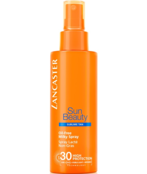 Latte Solare Spray Oil Free SPF30 Sun Beauty di Lancaster