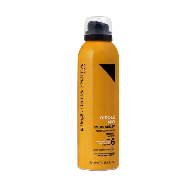 Olio Spray Corpo SPF 6 www.crystalprofumi.it