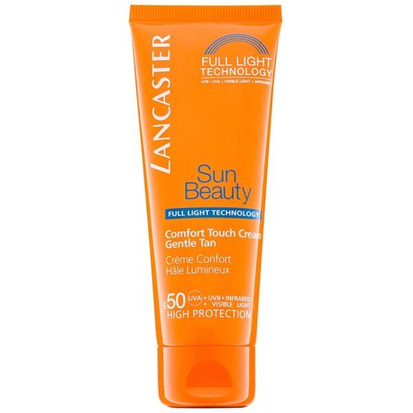 Crema Solare Viso Effetto Comfort SPF50 Sun Beauty di Lancaster www.crystalprofumi.it