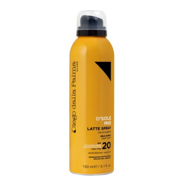 Latte Spray Corpo SPF 20 www.crystalprofumi.it