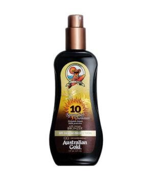 Spray Gel con Effetto Bronze SPF 10 di Australian