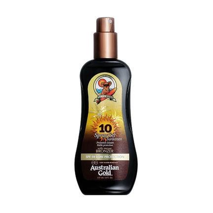 Spray Gel con Effetto Bronze SPF 10 di Australian www.crystalprofumi.it