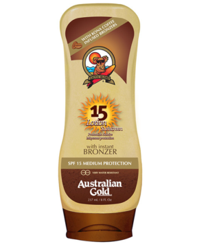 Lotion Sunscreen Bronzer SFP 15 di Australian Gold