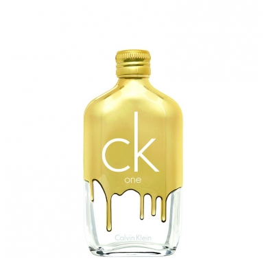 Ck One Gold Eau de Toilette di Calvin Klein www.crystalprofumi.it