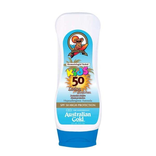 Kids Lotion Sunscreen SPF 50 di Australian Gold wwwcrystalprofumi.it
