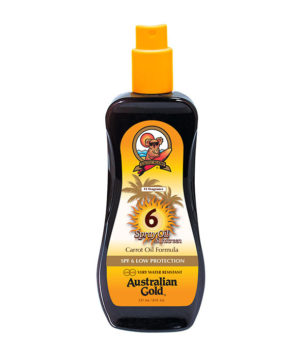 Spray Oil Sunscreen SPF 6 di Australian Gold