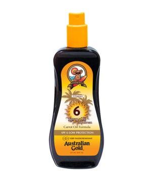 Spray Oil Sunscreen SPF 6 di Australian Gold