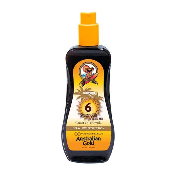 Spray Oil Sunscreen SPF 6 di Australian Gold www.crystalprofumi.it