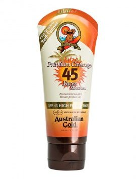 Premium Coverage Faces Sunscreen SPF 45 di Australian Gold