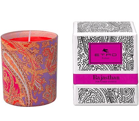Rajasthan Eau de Parfum Candela www.crystalprofumi.it