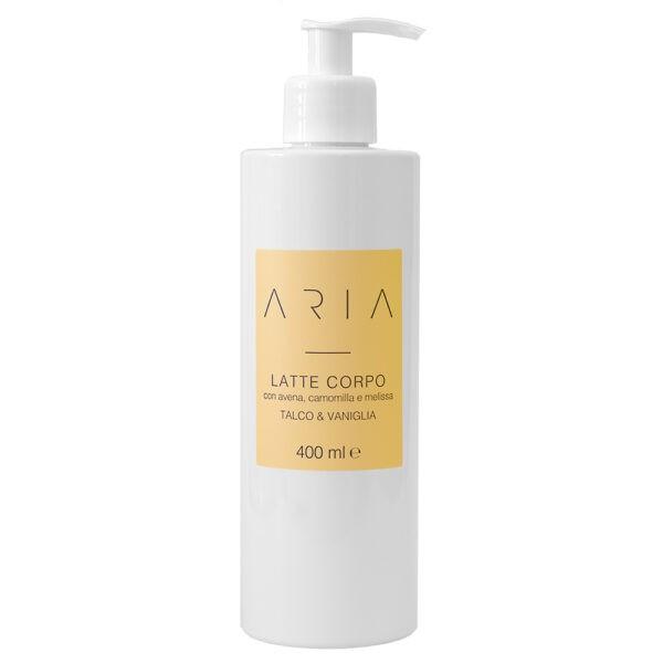 Aria Talco & Vaniglia Latte Corpo www.crystalprofumi.it